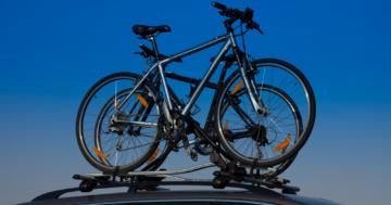 Fahrrad-Dachträger auf PKW
