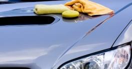 Auto mit Carnaubawachs pflegen